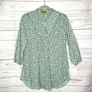April Cornell Cotton Gauze Tunic Top Med. #AA